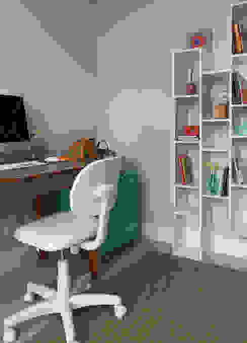 Study/office by MANDRIL ARQUITETURA E INTERIORES,