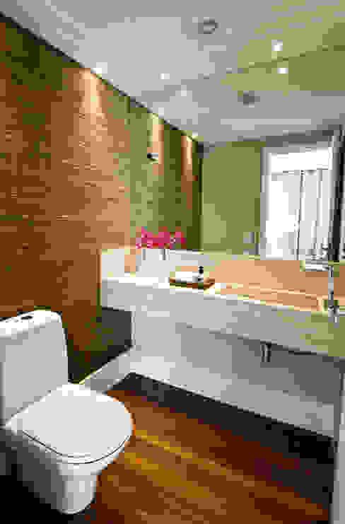 Lavabo Banheiros modernos por Cavalcante Ferraz Arquitetura / Design Moderno