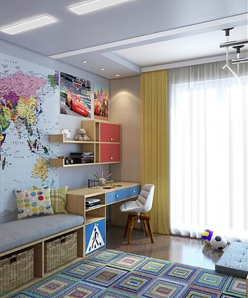 Classic style nursery/kids room by MoRo Classic