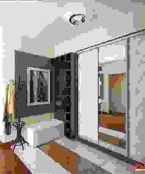 Проект 3к.кв ЖК Галант Коридор, прихожая и лестница в классическом стиле от MoRo Классический