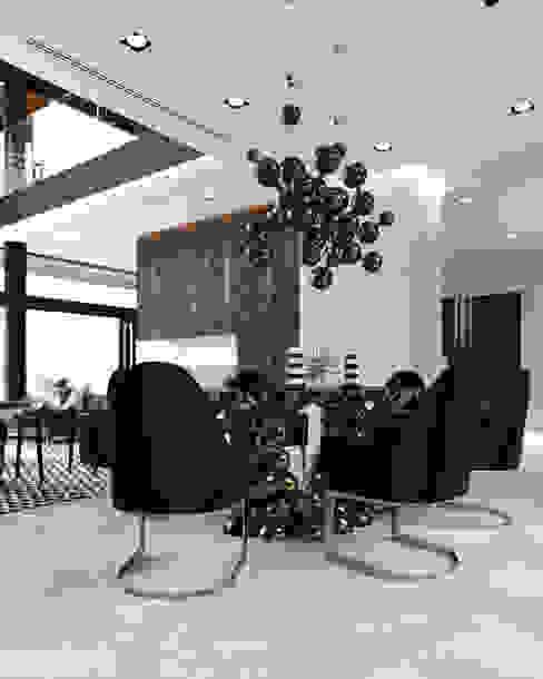 007 Гостиные в эклектичном стиле от Aksenova&Gorodkov project Эклектичный