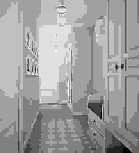 Pasillos, vestíbulos y escaleras de estilo ecléctico de Анна Теклюк Ecléctico