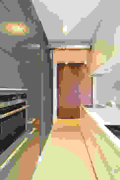 Mieszkanie na wynajem, Poznań: styl , w kategorii Kuchnia zaprojektowany przez Studio Nomo,Nowoczesny