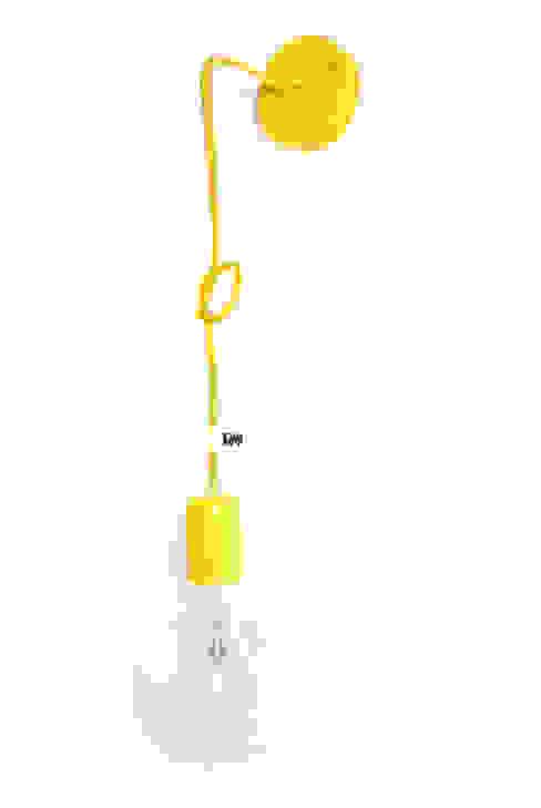 Nowoczesny kinkiet w kolorze żółtym imindesign od IMIN Minimalistyczny