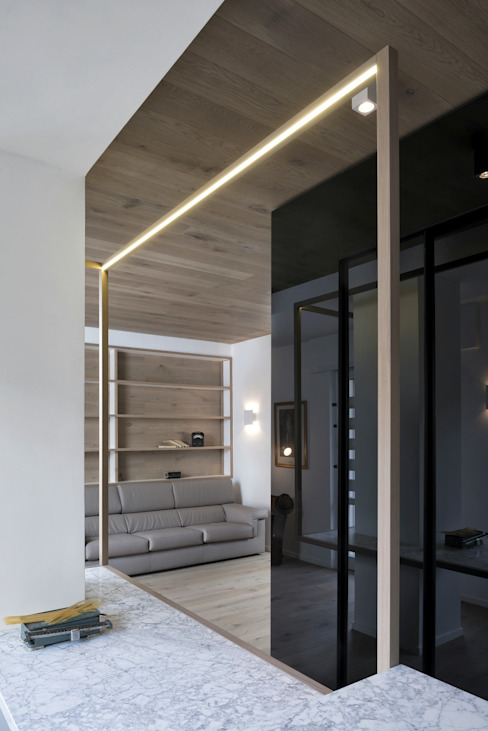 CUBE HOUSE di Mohamed Keilani Interiors Minimalista