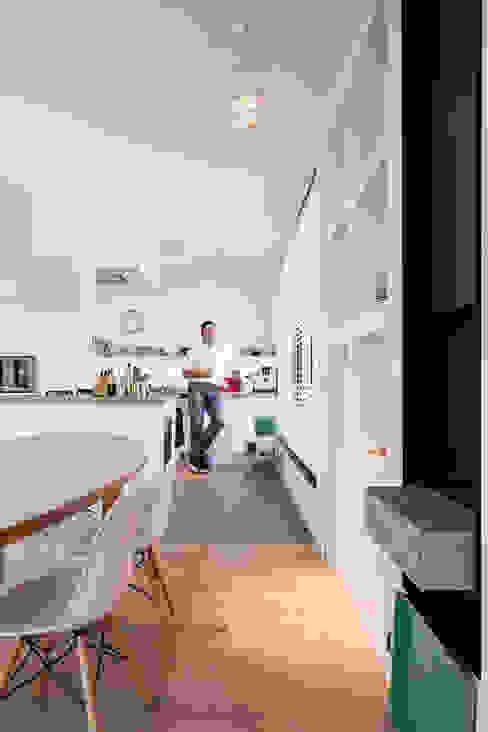 Woonhuis Kadoelen Amsterdam Noord Équipe architectuur en urbanisme Moderne keukens