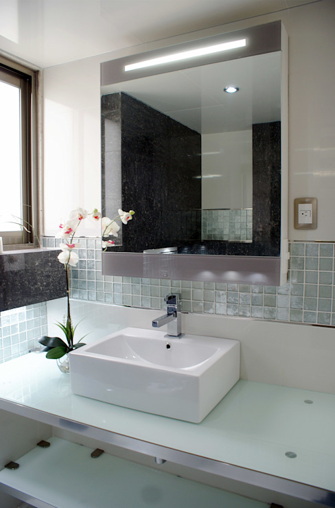 Baños:  de estilo  por Amarillo Interiorismo, Moderno