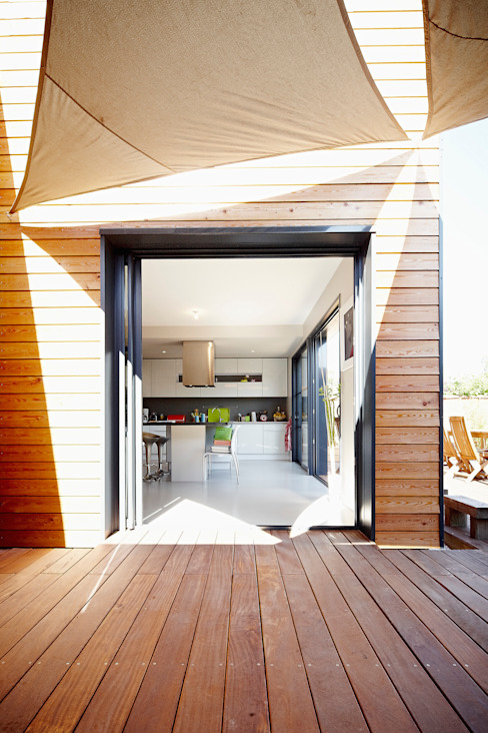 Rumah Modern Oleh Cendrine Deville Jacquot, Architecte DPLG, A²B2D Modern