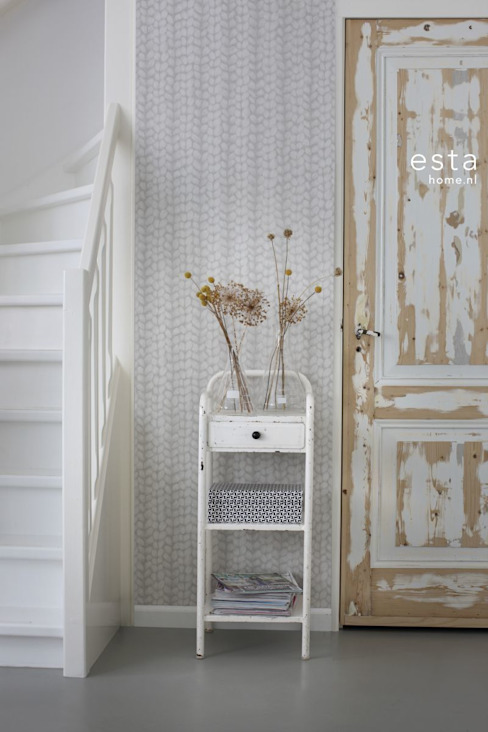 Country style corridor, hallway& stairs by ESTAhome.nl Country