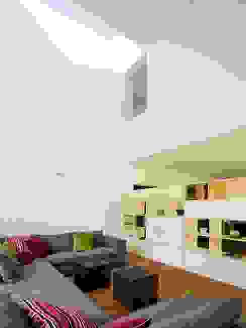 EFH am Föhrenweg, Baden Moderne Wohnzimmer von Merlo Architekten AG Modern