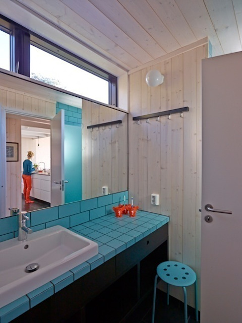 Bathroom Scandinavian style bathroom by Collective Works Scandinavian