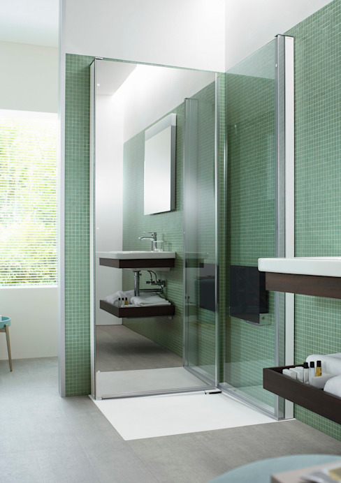 Minimalist style bathrooms by Duravit España Minimalist