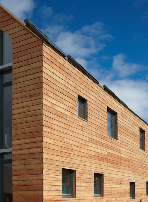 Scotlarch Cladding by Russwood Modern houses by Russwood - Flooring - Cladding - Decking Modern