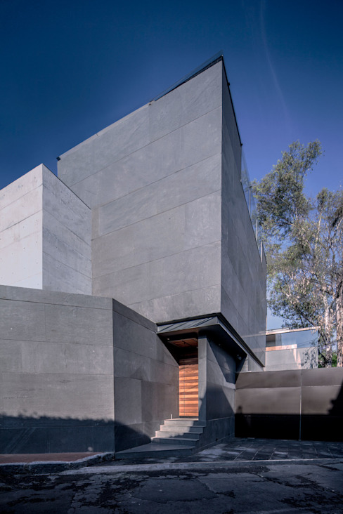 Casas de estilo  por grupoarquitectura , Minimalista