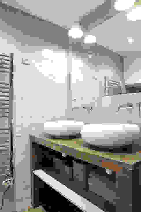 Pavillon esprit loft Salle de bain moderne par MSD architecte d'intérieur Moderne