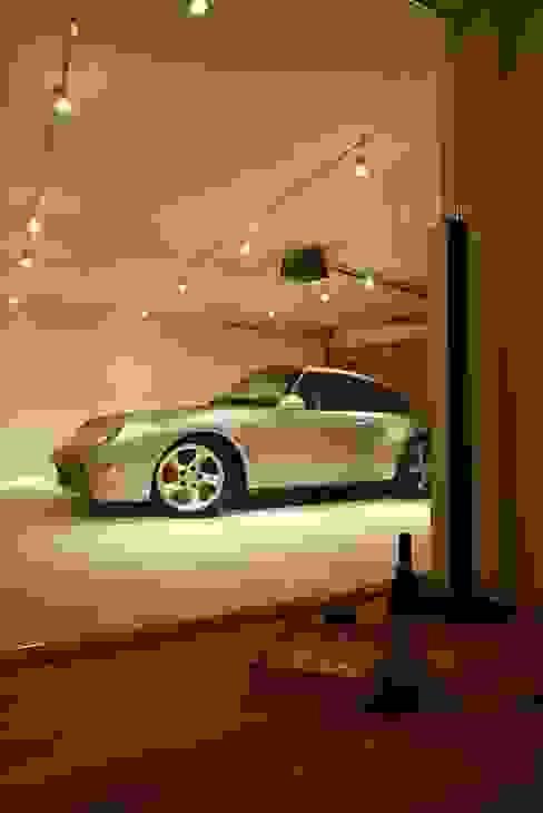 車庫: キタウラ設計室が手掛けたガレージです。,オリジナル