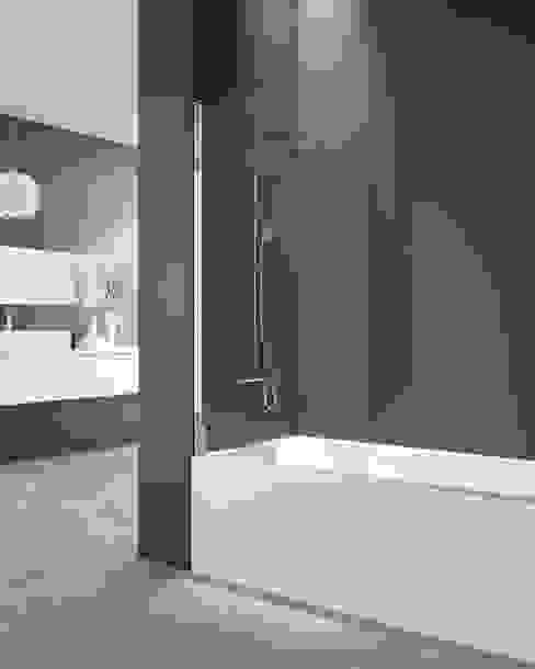 Panel de bañera Open de MAMPARASYMAS ONLINE, SLU Minimalista Vidrio