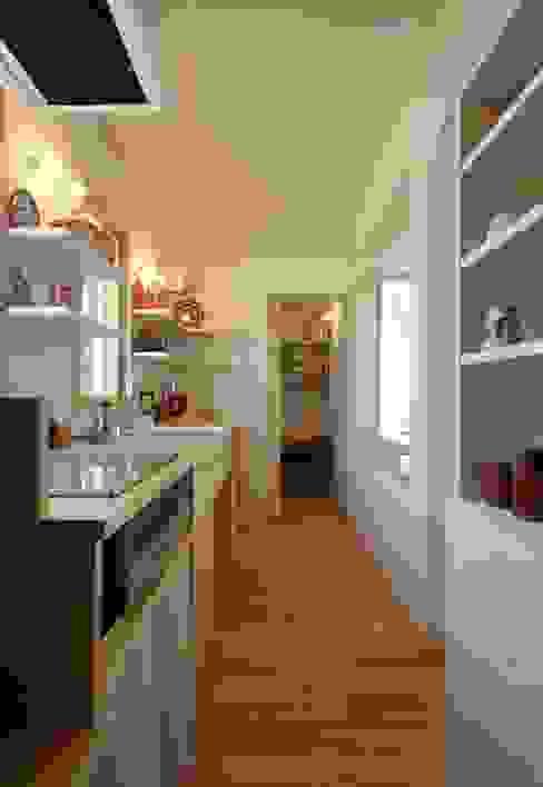 Cocinas modernas: Ideas, imágenes y decoración de エヌ スケッチ Moderno