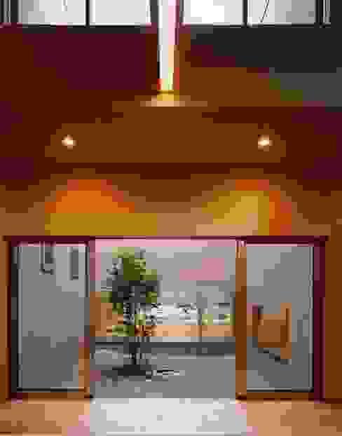 Jardin de style  par 建築工房なかしま一級建築士事務所(Nakasima-Architects-Workshop),