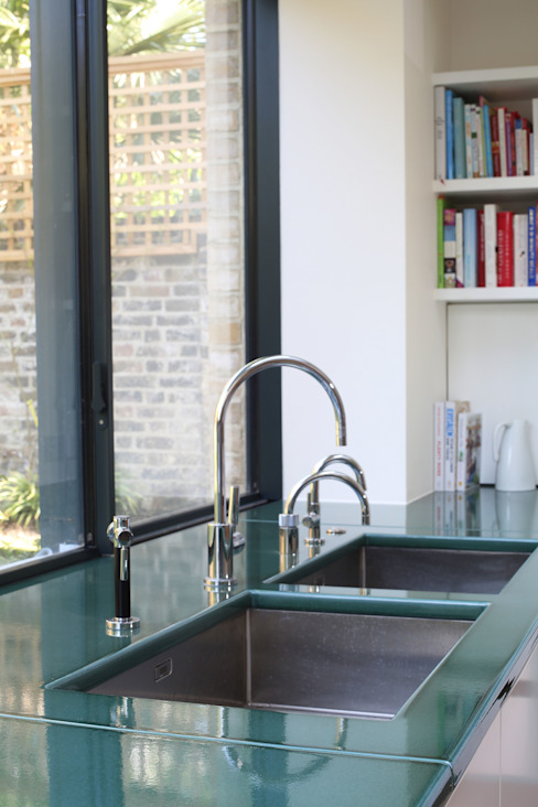 Notting Hill home Alex Maguire Photography KitchenSinks & taps