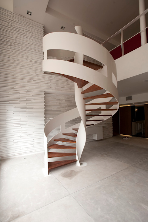 Modern Corridor, Hallway and Staircase by Mob Modern