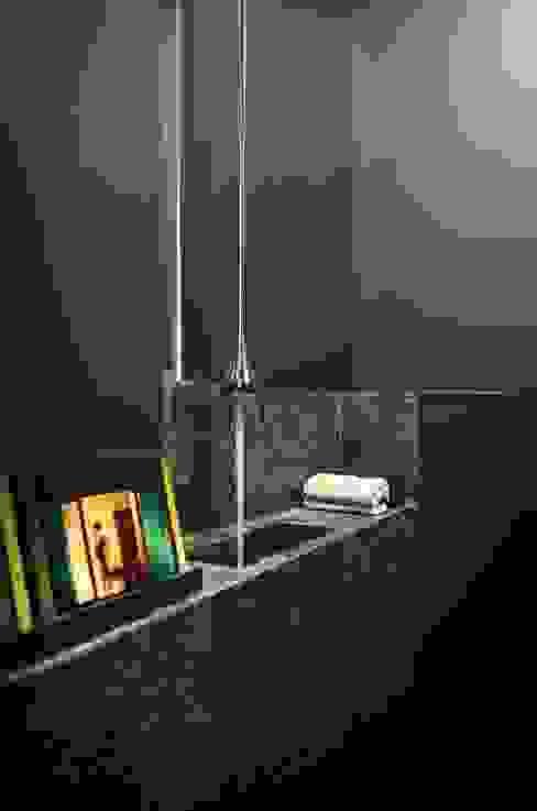 Modern bathroom by volume Modern