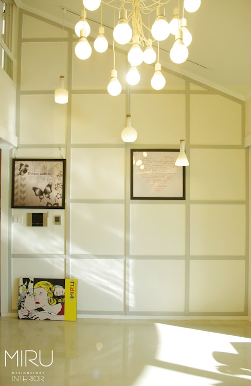 Living room by 미루디자인,