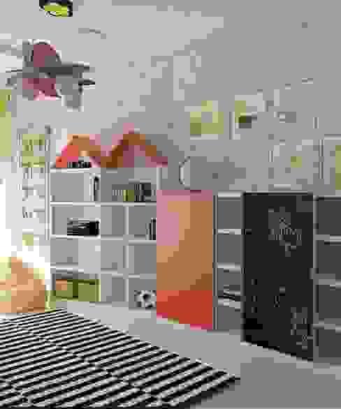 Дизайн проект квартиры в Коломягах Детская комнатa в классическом стиле от MoRo Классический