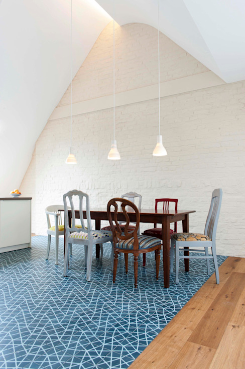 Dining room by Bachmann Badie Architekten