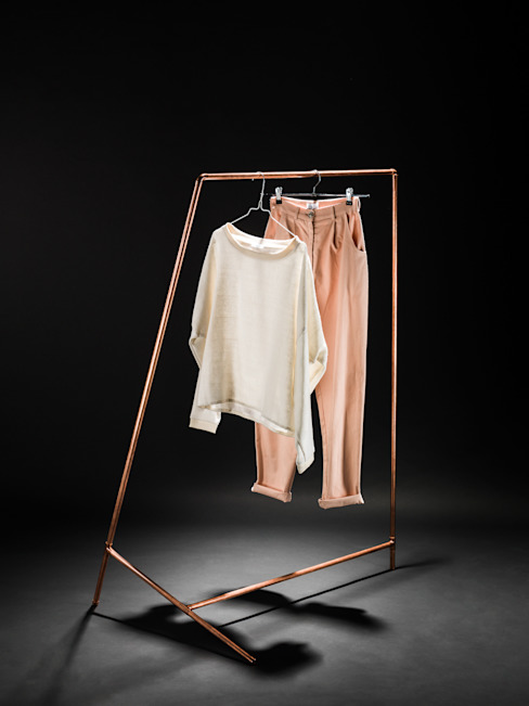 """DIY"" coat rack de Phil Divi Product Design Minimalista"