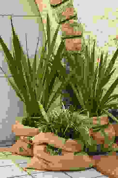 Jardines de estilo  por Luiza Soares - Paisagismo, Rústico Yute Morado/Violeta