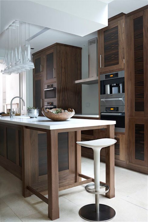 Exotic wood kitchens Modern kitchen by Hutchinson furniture and interiors Modern