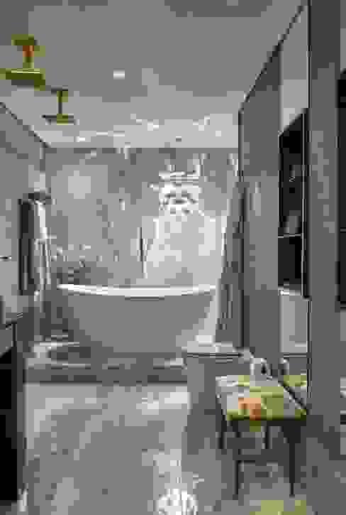 Banheira - Banho Casal Banheiros modernos por Studio Alessandra Lobo Moderno