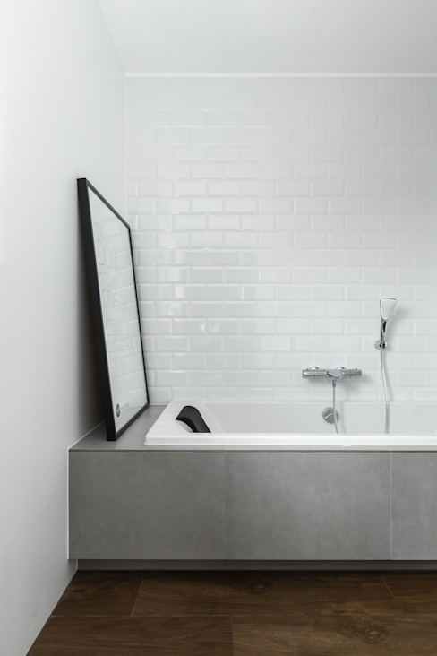 Bathroom by www.niewformie.pl, Scandinavian