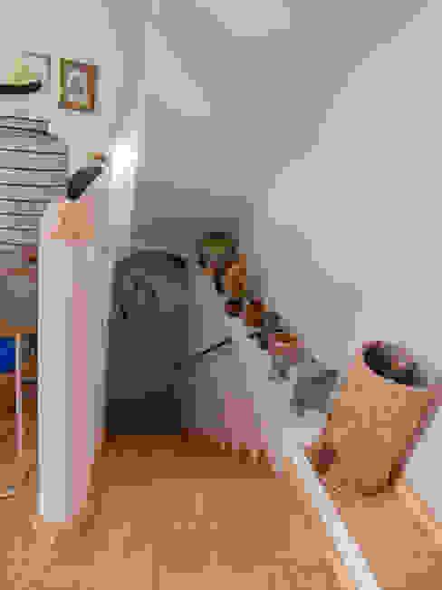 Escalera FGMarquitecto Piscinas de estilo rústico