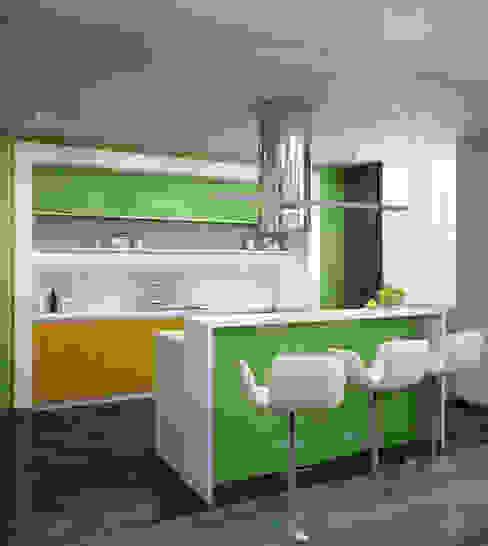 Fresh Кухня в стиле минимализм от VAE DESIGN GROUP™ Минимализм