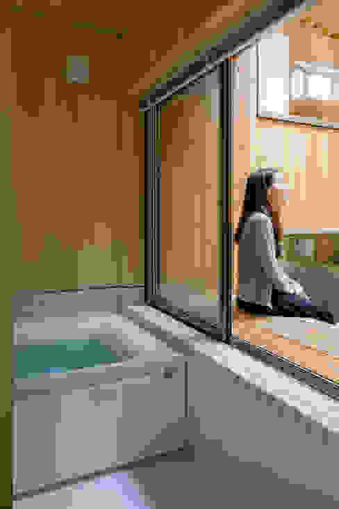 FP モダンスタイルの お風呂 の 株式会社リオタデザイン モダン