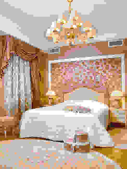 Цвета чайной розы Спальня в классическом стиле от D&T Architects Классический