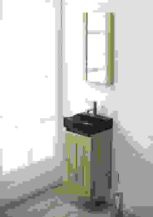 Gäste-WC Anlage mit Vollsteinwaschtisch F&F Floor and Furniture BadezimmerWaschbecken