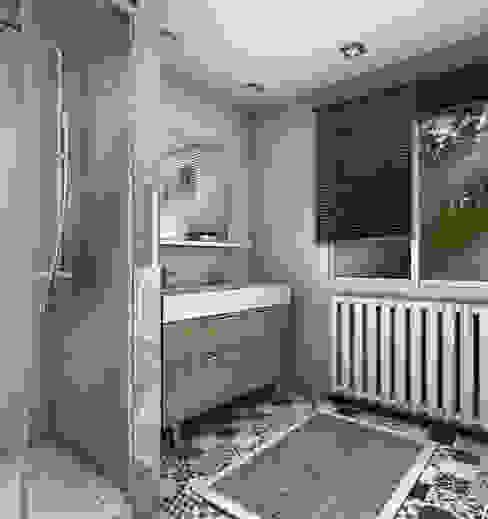Baños escandinavos de PYXIS Home Design Escandinavo