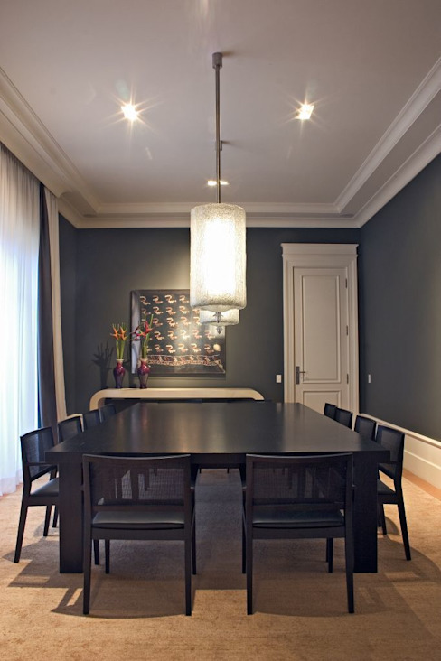 Dining room by homify, Eclectic