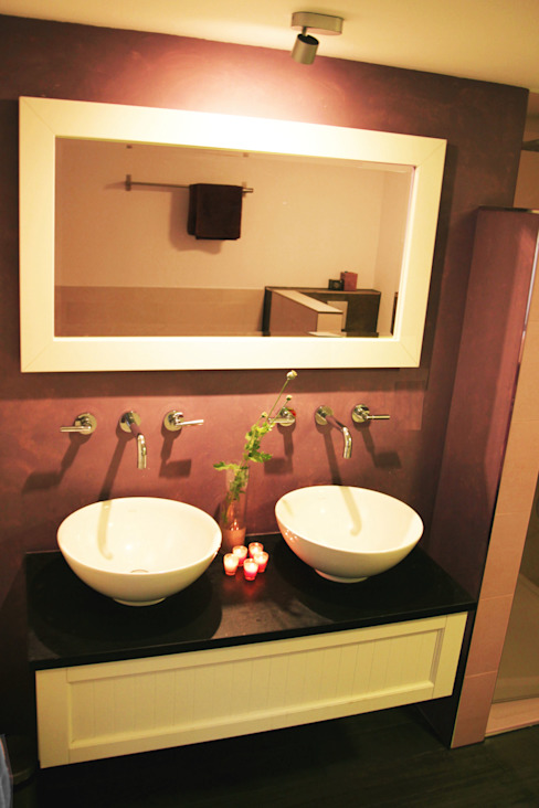 badkamer: modern  door PIER architecten, Modern