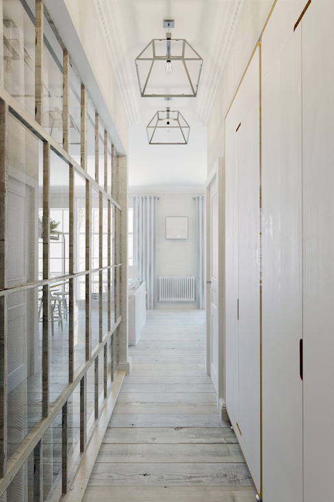Eclectic style corridor, hallway & stairs by Anton Medvedev Interiors Eclectic