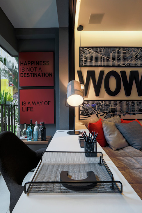Office spaces & stores  by homify,