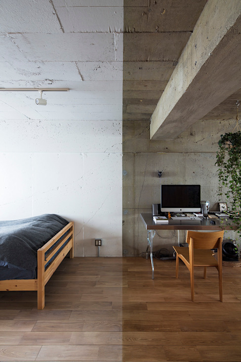 Eclectic style walls & floors by 松島潤平建築設計事務所 / JP architects Eclectic