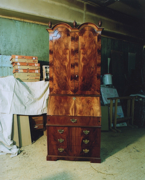 Английский кабинет: Гостиная в . Автор – Мебельная мастерская Александра Воробьева,