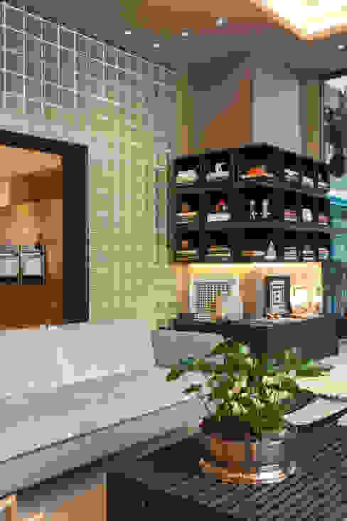Loft do Casal Salas de estar modernas por Denise Barretto Arquitetura Moderno