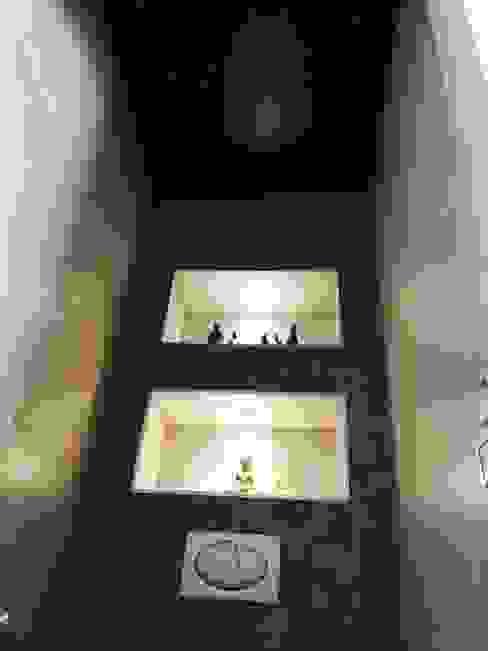 Wc Toiletten sterrenhemel plafond verlichting met glasvezel LED van MyCosmos Scandinavisch