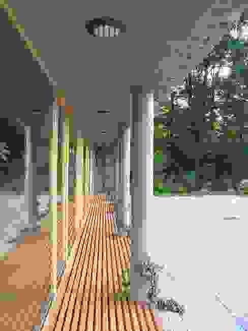 Domki w Dzikowie: styl , w kategorii Domy zaprojektowany przez M. i A. DOMICZ,Nowoczesny