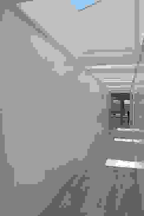 Interior Pasillos, vestíbulos y escaleras de estilo moderno de Alicante Arquitectura y Urbanismo SLP Moderno